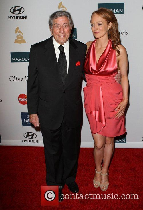 Tony Bennett Clive Davis And The Recording Academy's...