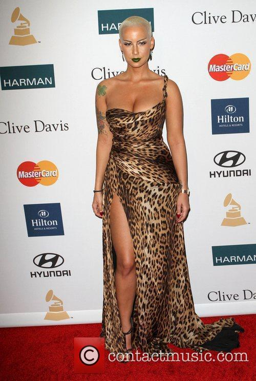 Amber Rose Clive Davis And The Recording Academy's...