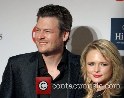 Miranda Lambert, Blake Shelton Clive Davis And The...