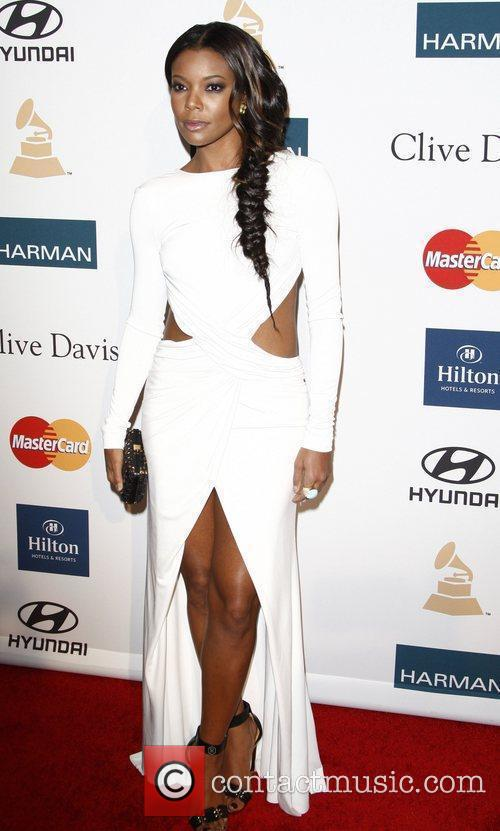 Gabrielle Union Clive Davis and The Recording Academy's...