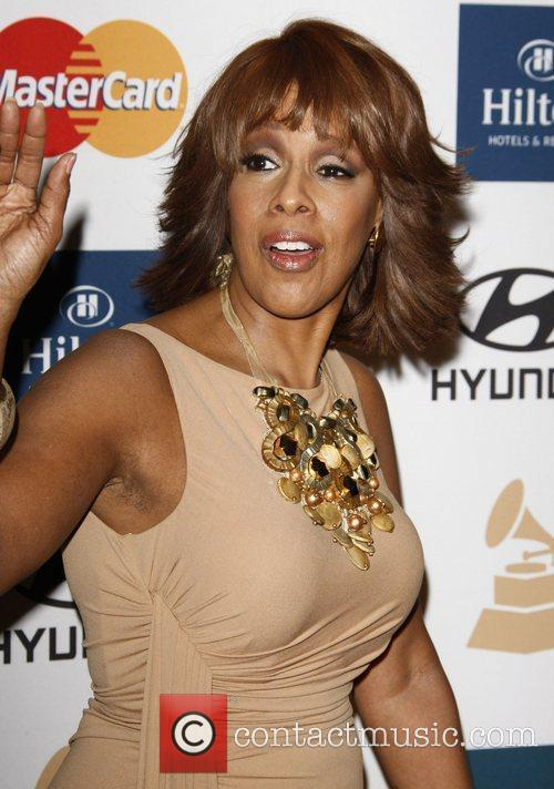 Gayle King Clive Davis and The Recording Academy's...