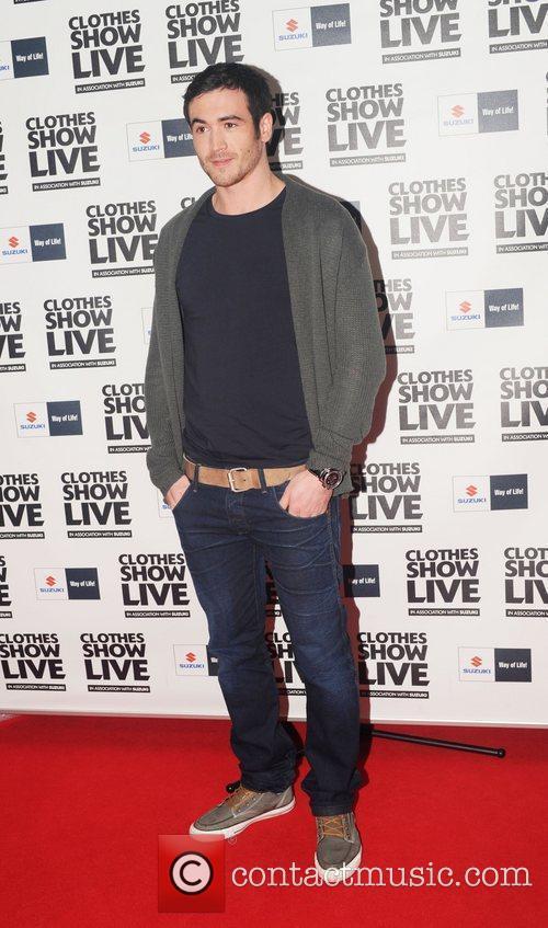 David Atkins (aka Rob from Hollyoaks) Clothes Show...