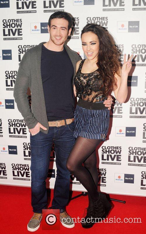 Stephanie Davies (aka Sinead from Hollyoaks) and David...
