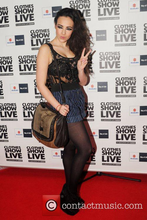Stephanie Davies (aka Sinead from Hollyoaks) Clothes Show...