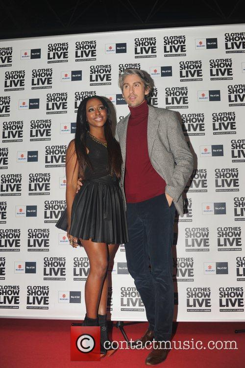 Alexandra Burke at the Clothes Show being held...