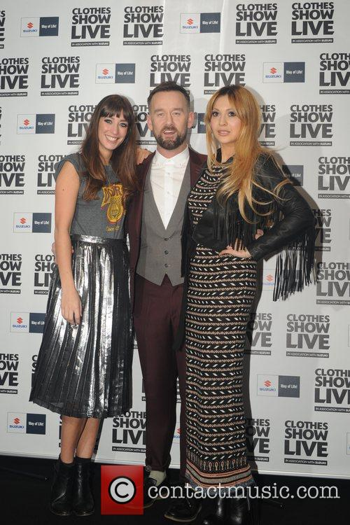 Brendan Courtney & Zara Martin attending the Clothes...