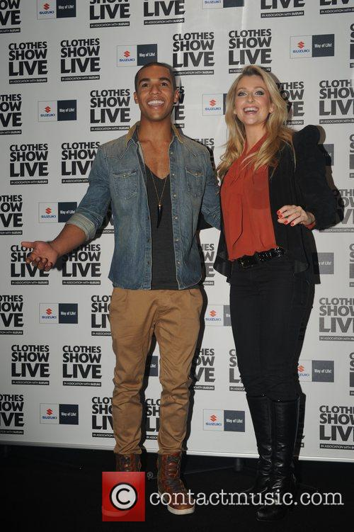 Lucien Laviscount and Gemma Merna 1