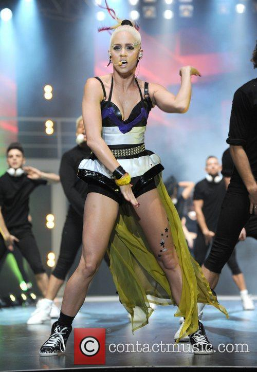 Kimberley Wyatt Clothes Show Live 2011 at the...