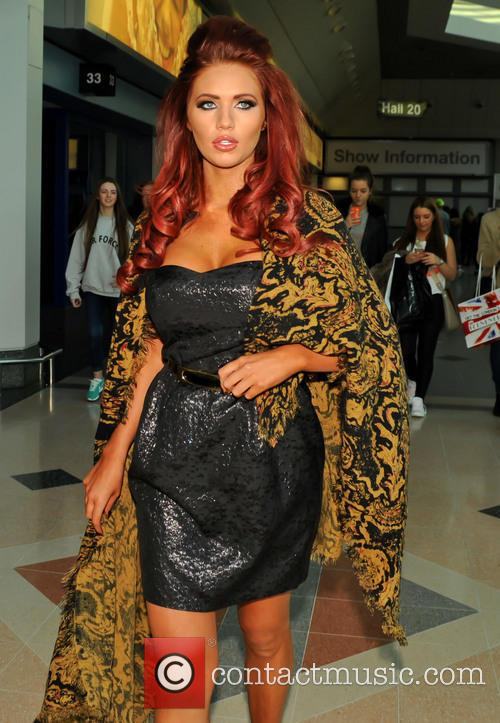 Amy Childs, Birmingham Nec and Clothes Show Live 3