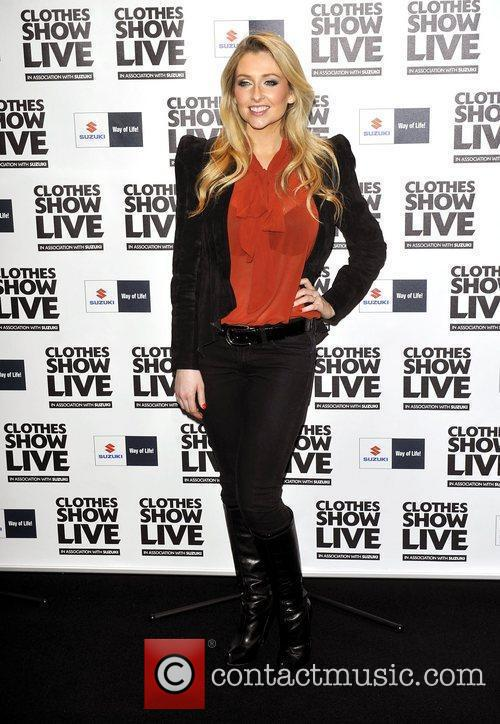 Gemma Merna  the Clothes Show Live held...