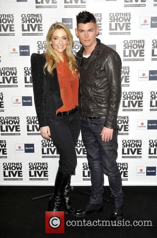 Gemma Merna;Kieron Richardson  the Clothes Show Live...