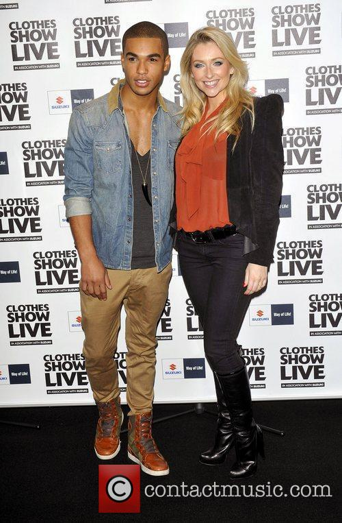 Gemma Merna;Lucien Laviscount  the Clothes Show Live...