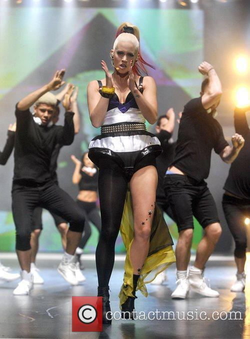 Kimberly Wyatt  the Clothes Show Live held...