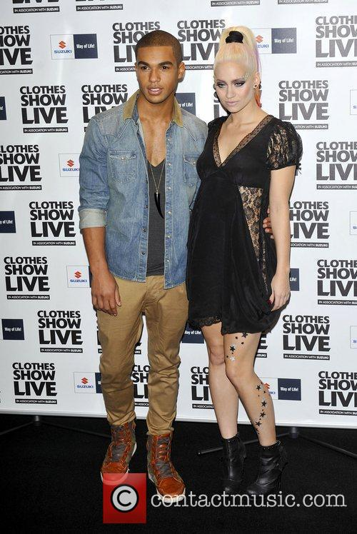 Kimberly Wyatt;Lucien Laviscount  the Clothes Show Live...