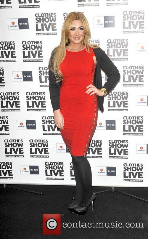 Lauren Goodger  the Clothes Show Live held...