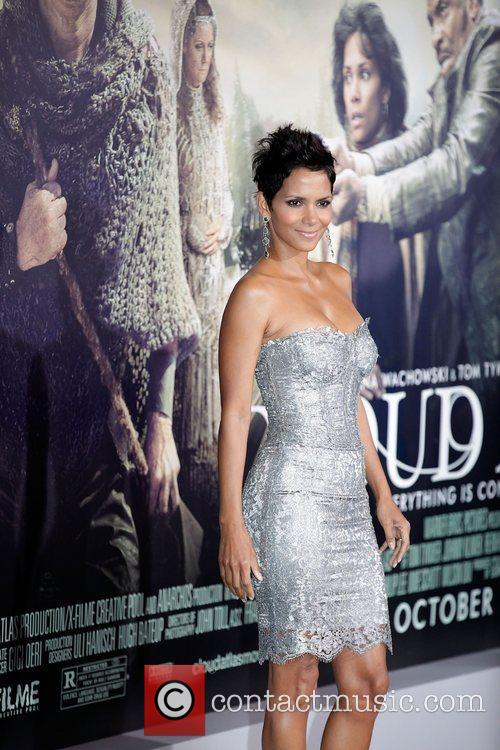 Halle Berry and Grauman's Chinese Theatre 6
