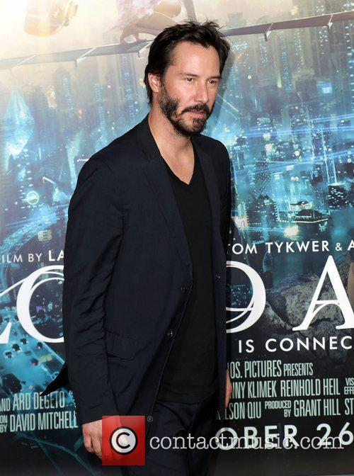 Keanu Reeves and Grauman's Chinese Theatre