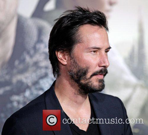 Keanu Reeves and Grauman's Chinese Theatre 2