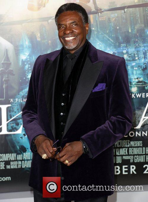 Keith David and Grauman's Chinese Theatre 1