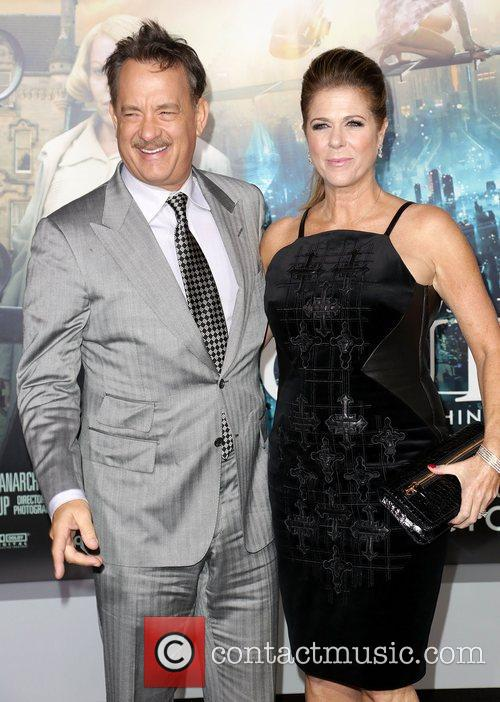 Tom Hanks, Rita Wilson and Grauman's Chinese Theatre 2