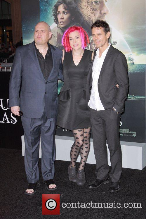 Andy Wachowski, Lana Wachowski and Tom Tykwer 4