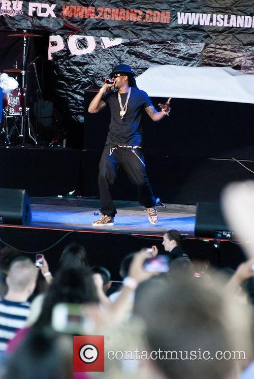 2 Chainz  performs on the 'Club Paradise...