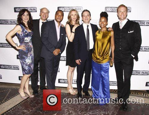 Cast, Brendan Griffin and Gotham Hall 1
