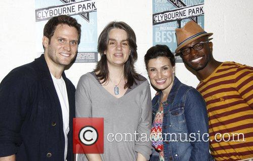 steven pasquale pam mackinnon idina menzel and 3903216