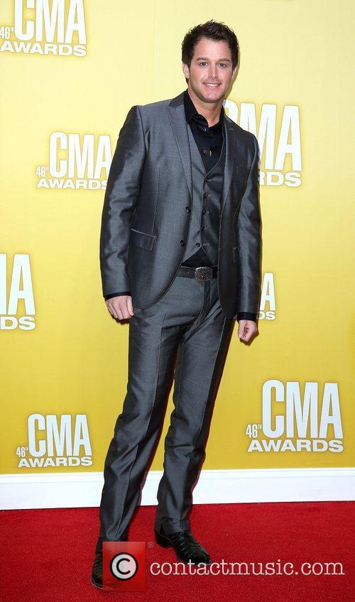 Easton Corbin 46th Annual CMA Awards Inside Bridgestone...