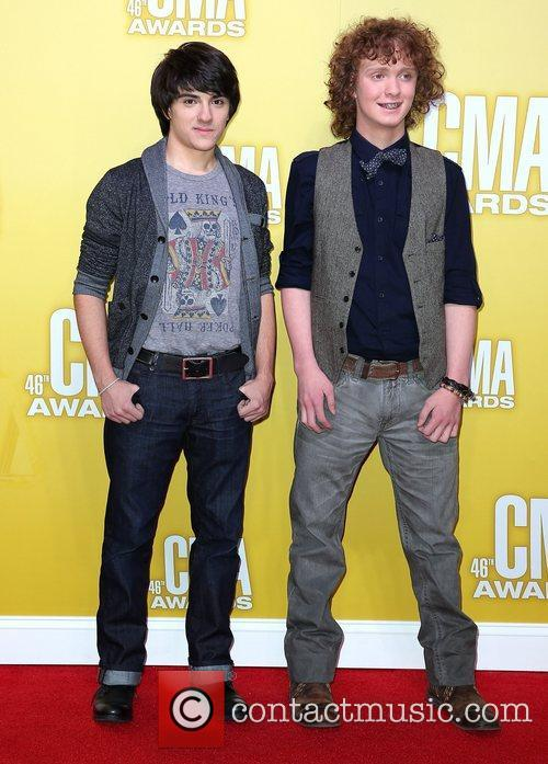 Joey Santoro, Marcus Wanner 46th Annual CMA Awards...