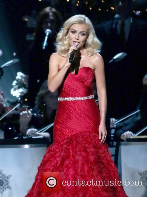 Katherine Jenkins performing at the 2012CMA Country Christmas...