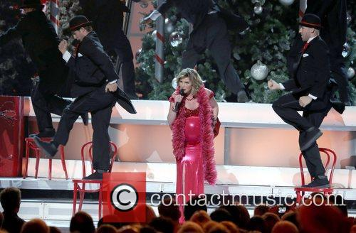Jennifer Nettles performing at the 2012CMA Country Christmas...