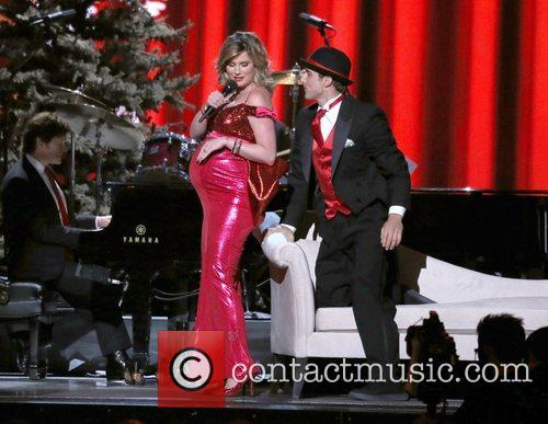 Performing at the 2012CMA Country Christmas at Bridgestone...