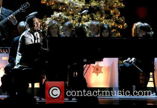 John Legend  performing at the 2012CMA Country...