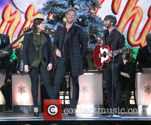 Lady Antebellum performing at the 2012CMA Country Christmas...