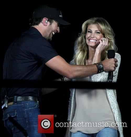 Luke Bryan, Faith Hill 2012 CMA Music Festival...