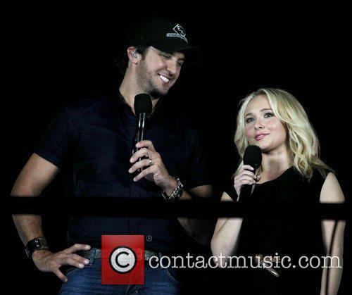 Luke Bryan, Hayden Panettiere 2012 CMA Music Festival...