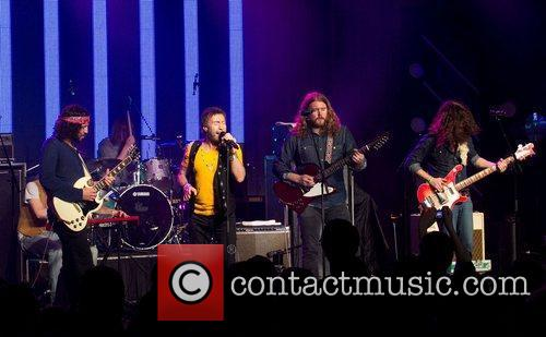 Paul Rodgers  performs on stage with The...
