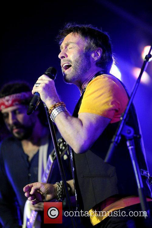 Paul Rodgers  performs on stage at the...