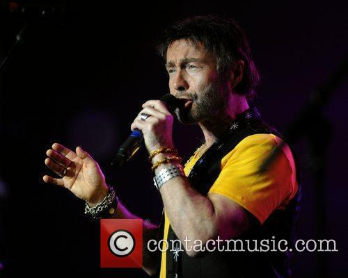 Performs on stage at the 12th Annual Indies...