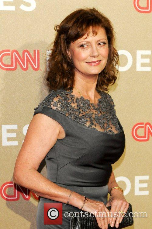 Susan Sarandon at the CNN Heroes bash