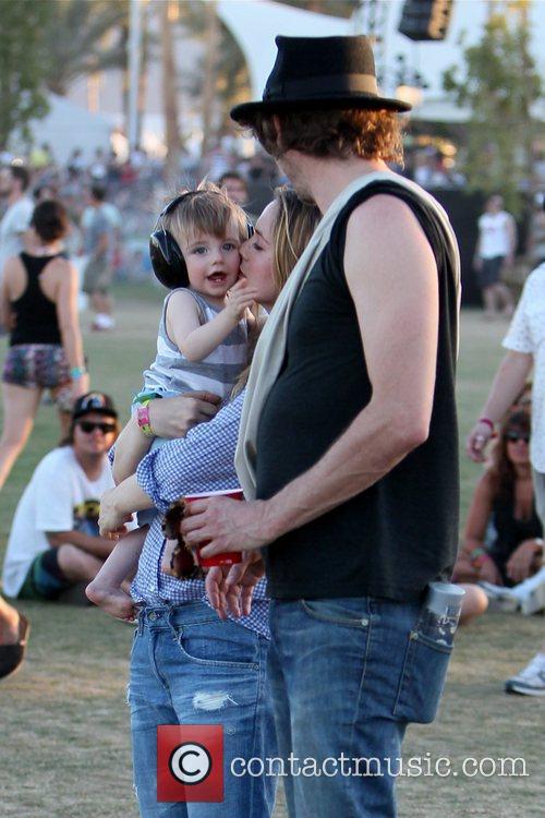 Alicia Silverstone, Christopher Jarecki, Coachella
