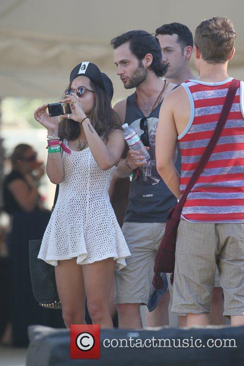 Penn Badgley, Zoe Kravitz and Coachella 2