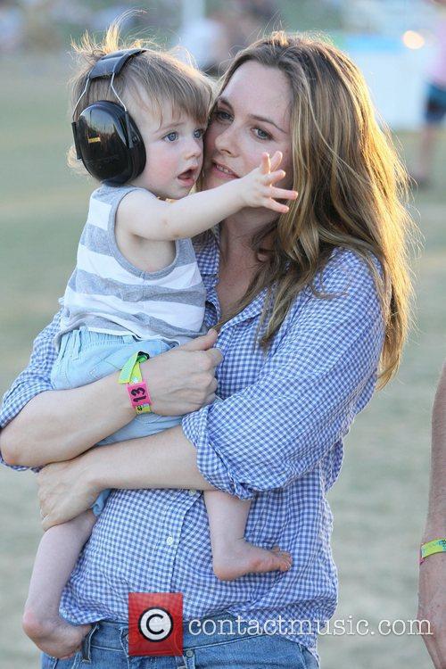 Alicia Silverstone and son Bear Blu Jarecki Celebrities...