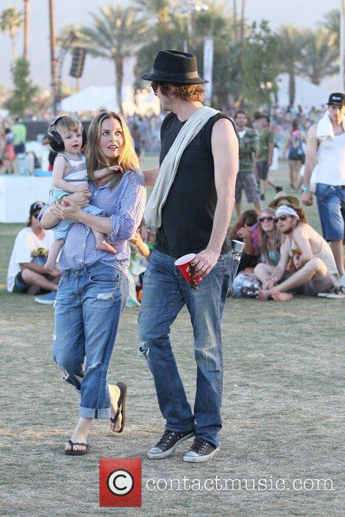 Alicia Silverstone, Christopher Jarecki and Coachella 3