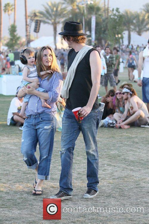 Alicia Silverstone, Christopher Jarecki and Coachella 4