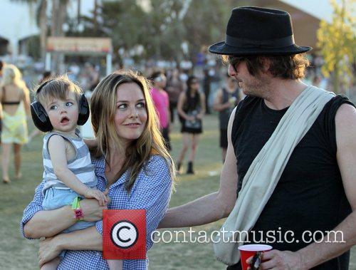 Alicia Silverstone, Christopher Jarecki and Coachella 5