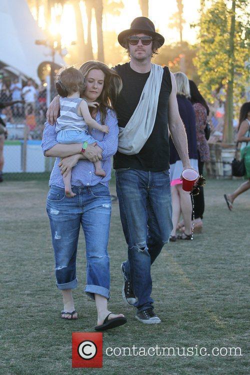 Alicia Silverstone, Christopher Jarecki and Coachella 6