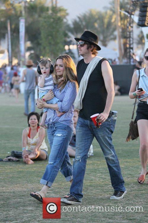 Alicia Silverstone, Christopher Jarecki and Coachella 7