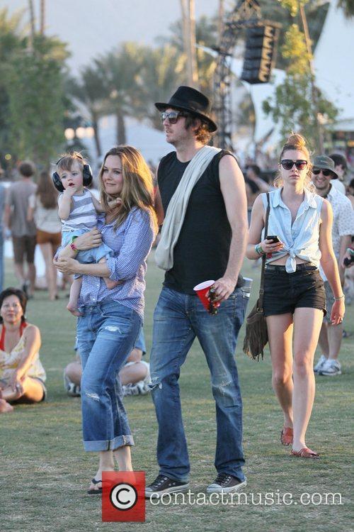 Alicia Silverstone, Christopher Jarecki and Coachella 8